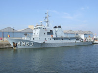 Ex Navy Patrolvessel 50M. Ready Duty Ship.