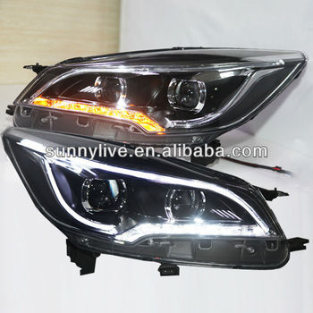 2013 2014 year for ford kuga escape led strip headlight. Black Bedroom Furniture Sets. Home Design Ideas