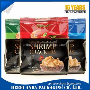 Personalizada Impresa Camarones Cracker Galleta Envolturaplástico Gamba Cracker Galleta Buy Gamba Cracker Galletacamarones Cracker Galleta