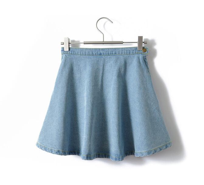 Blue shorts mature
