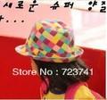 1 PCS Kids Children Cotton Hat Sun Cap Baby Jazz Cap Cowboy Hat Kids Top Hat