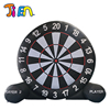 Large colorful home use kids playing safety cheap round inflatable dart board