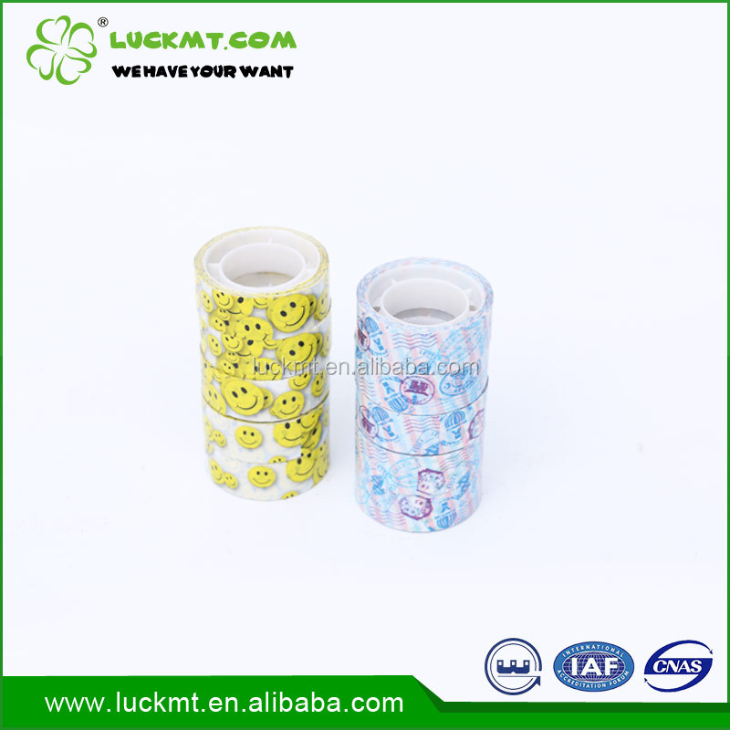 Opp Adhesive Easy Tear Stationery Tape With Logo Parcel