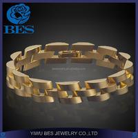 Watch Strap Saudi Arabia Copper Jewelry Gold Bracelet for Men