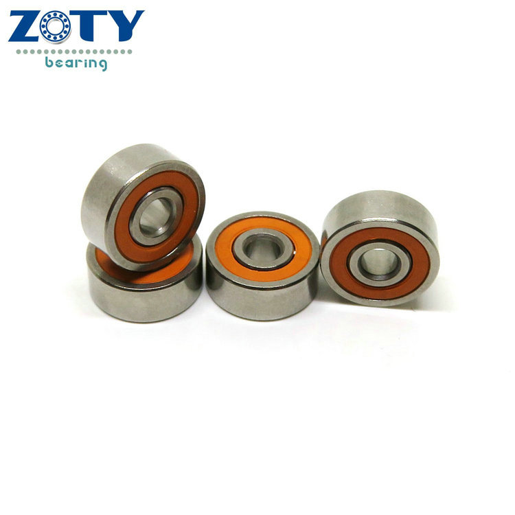 Orange seals high grade fishing tool bearing 3x8x4 ceramic bearings reel