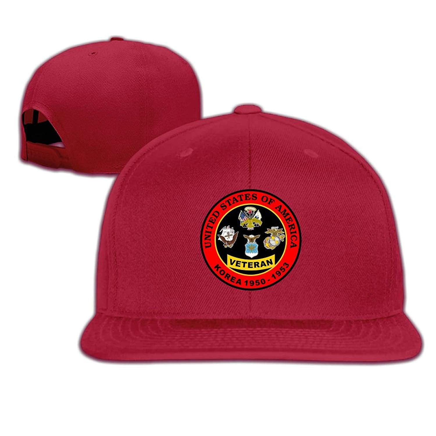 Adjustable Baseball Hat Snapbacks Hat Baseball Caps Trucker Hat - United States Army Marine Air Force Navy Korea War Veteran