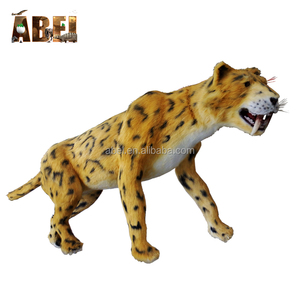 Animatronic outdoor Moving Robotic Animal Tiger Model for Theme Park
