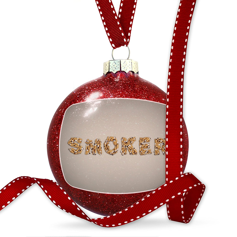 Christmas Decoration Smoker Smoking Cigarettes Ornament