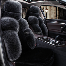 High Quality Luxurious Universal Size fur Car Seat Cover,warm fur car seat cover,