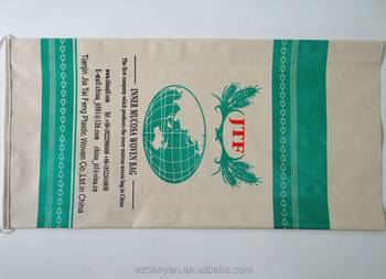 Sack Pp Woven Rolls Poly Rice Bag Manufacturers