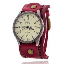 CCQ винтажные часы-браслет из коровьей кожи, высококачественные античные женские наручные часы, роскошные кварцевые часы, Relogio Feminino(Китай)