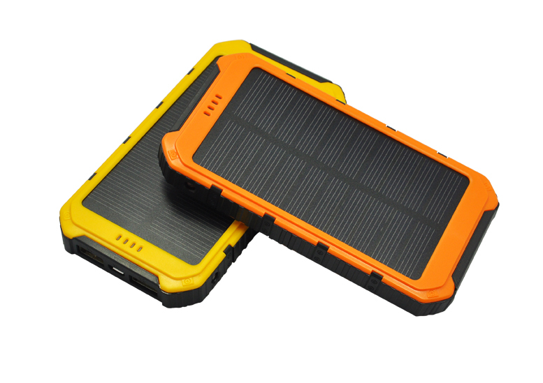 8000mAh Solar Power Bank , Dual USB output Port, DC5V/2A Input, Free Shipping