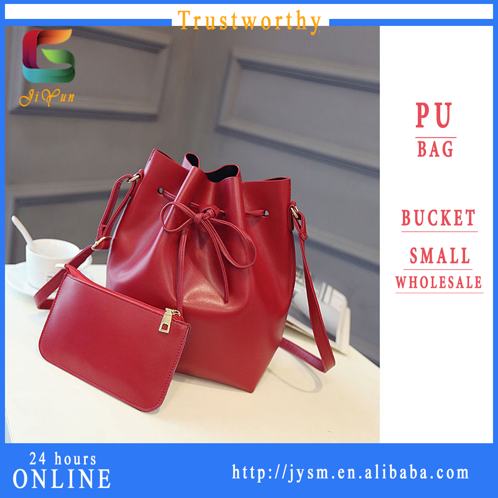 USA Best Sale Newest Design Red Women Bucket Shoulder Bag Handbag Tote Purse Messenger Hobo Bag Satchel Crossbody Manufacture