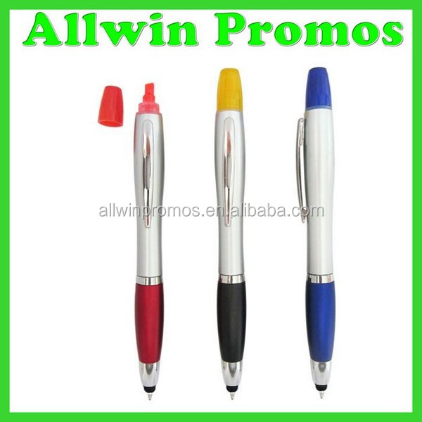 New Design Stylus Highlighter Pen Combo