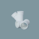 Professional Manufacture Supply Toilet Pipe Fittings UPVC Elbow 45 for Water Drainage