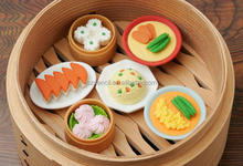 Factory Direct Trendy Novelty Fantasy Food Shaped Erasers