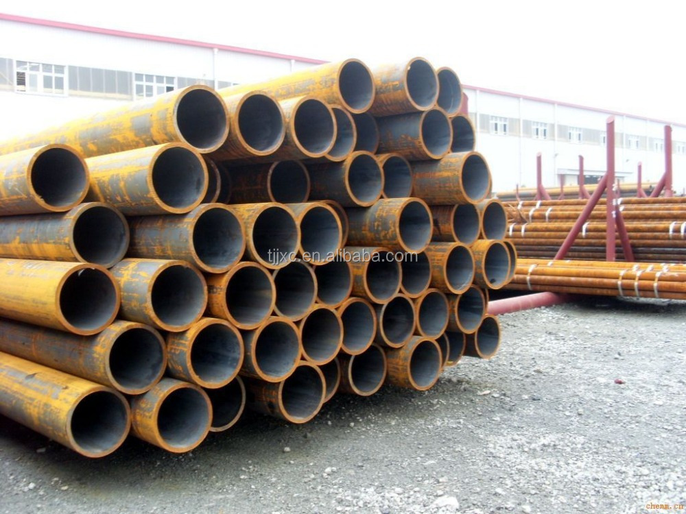 DIN2448 /DIN17175 st52 st35.8 st37 tube schedule 40 black seamless pipe,black steel seamless pipe,low carbon steel seamless