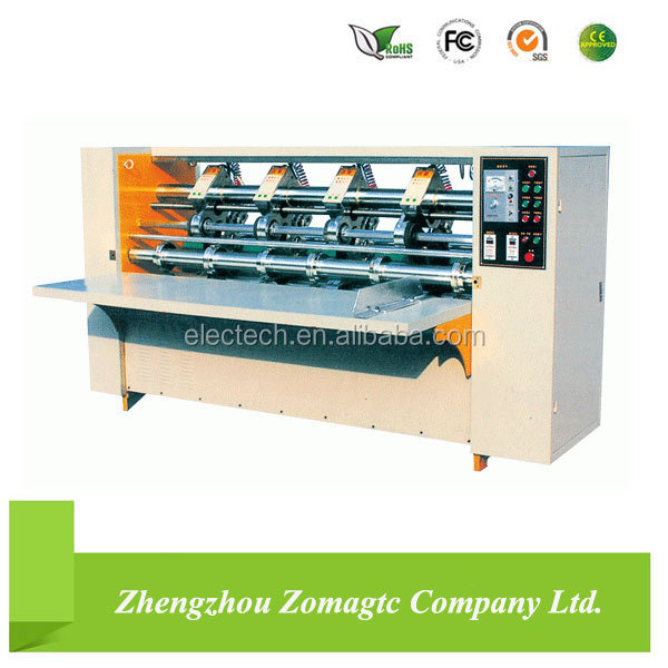 BFY Corrugated Carton Thin Blades Die Cutting and Creasing Machine