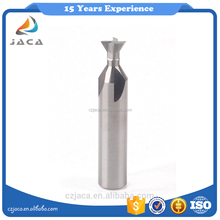 High speed tungsten carbide indexable end milling dovetail concrete groove cutter