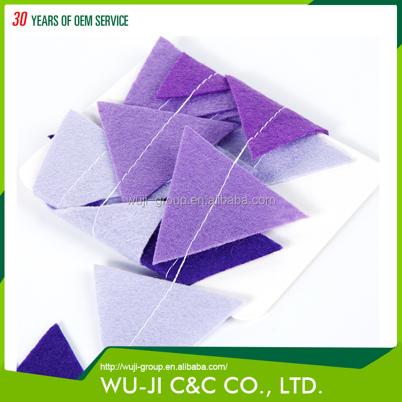 Party decoative colorful triangle shape party confetti