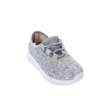 Wholesale Personalized Monogram Women Glitter Shoes
