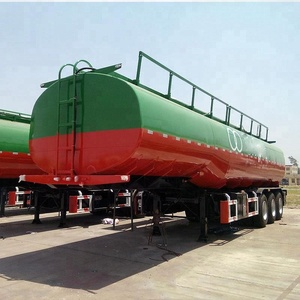 Stainless Steel Tanker 40000 Fuel Tank Trailer  On CIF Dammam, Saudi Arabia