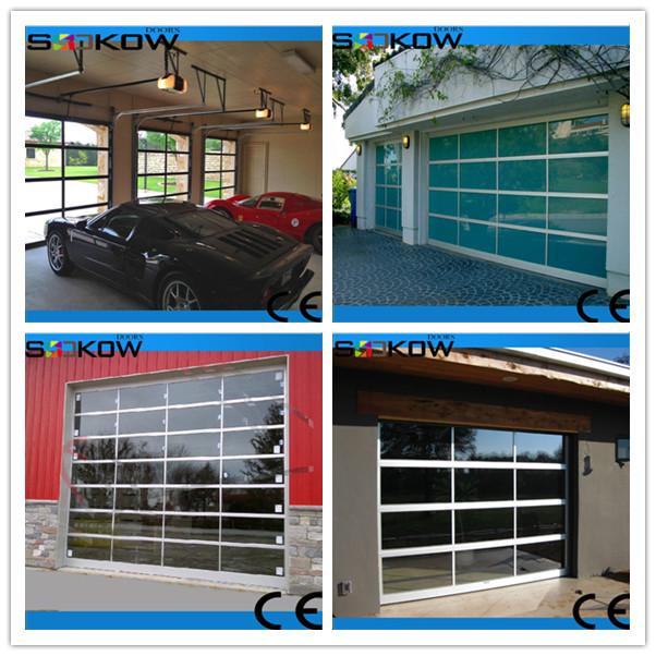 Insualted sectional glass garage door buy insulated for Sectional glass garage door