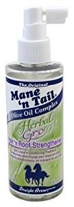 Straight Arrow Mane 'N Tail Herbal Gro Hair 'N Root Strengthener 6oz (3 Pack)