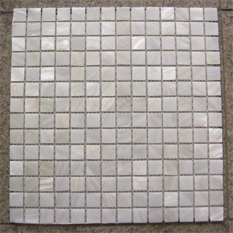 <strong>white</strong> lip mother of pearl seashell mosaics <strong>tile</strong>