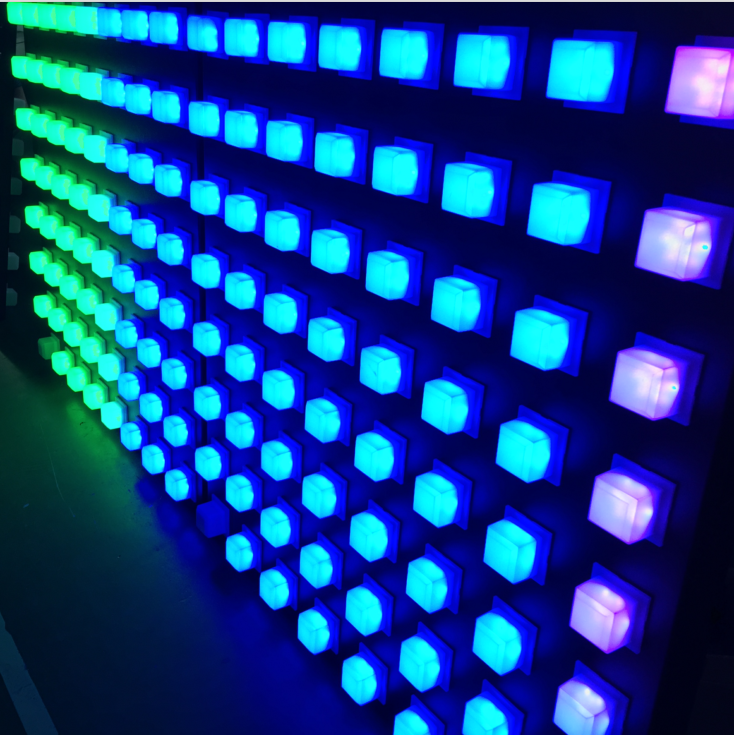 Led Dot Pixel Rgb Decorate Ceiling