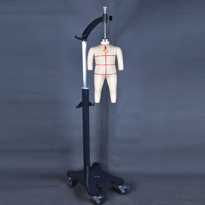 (0-14Y) Adjustable flexible kids tailoring fabric child size dummy sewing mannequins dress form
