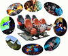 Interactive attractions full motion chair drivers usb 7d gaming mouse with full effects for amusement park