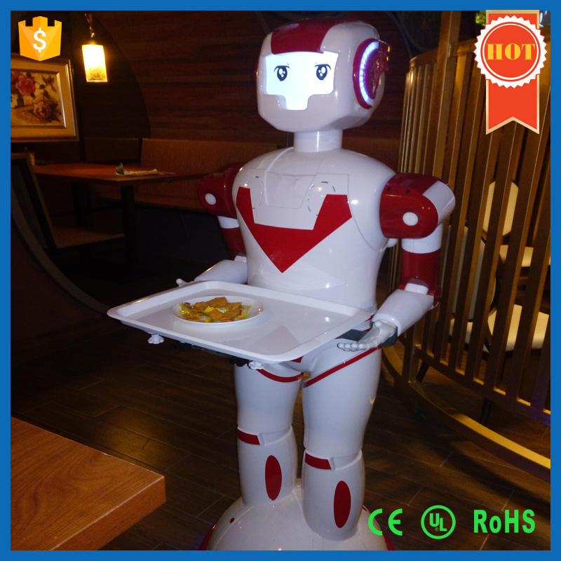 2016 Hot sell Intelligent Humanoid Robot Waiter For Restaurant,Factory price