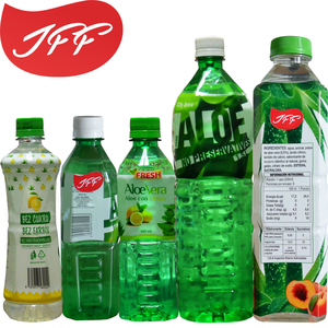 Aloe Vera Drinks white grape juice beverage drink with pulp PET OEM private label 500ml
