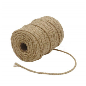 4mm 4ply 165 Feet Thick Jute String Rope for Floristry