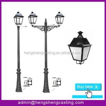 Decorative Light Poles street light poles cast iron decorative light pole customized