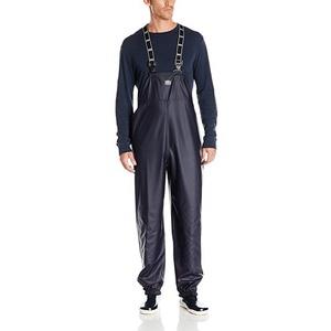 Workwear Men's Sanitation Bib Rain Pants pu coverall