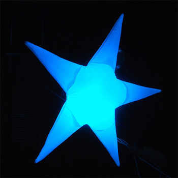 cheap price high quality giant led stars inflatable for pub bar birthday party decoration