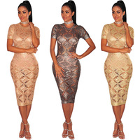 or20179a Factory Direct 2018 Elegant Sexy Party Hot Night Club Bodycon Dress Women Lady