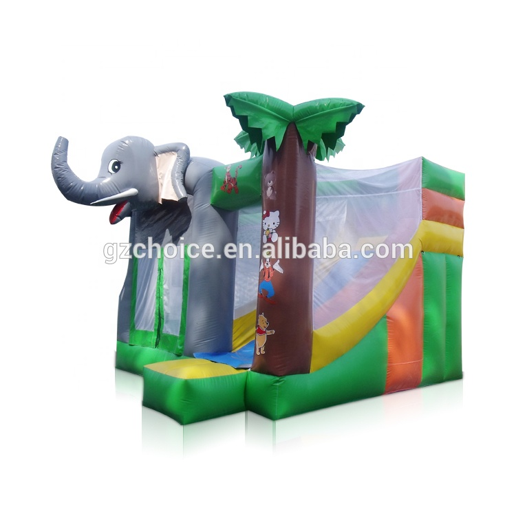 GuangZhou Choice wholesale Elephant inflatable bouncers,used commercial bounce houses for sale inflatable  bouncer