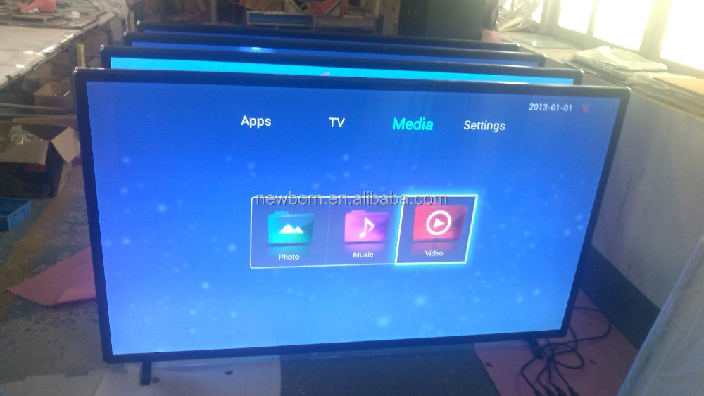 UHD 4 K LED TV 110 Inch Smart Digitale DLNA Televisie