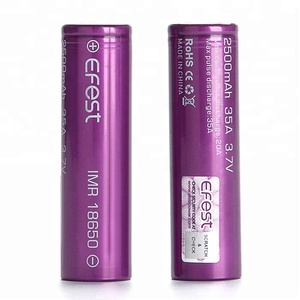 Li-ion Battery 3.7v Cell 18650-2500mah Rechargeable High Dry Battery Electric Motorcycle Lithium Batteries