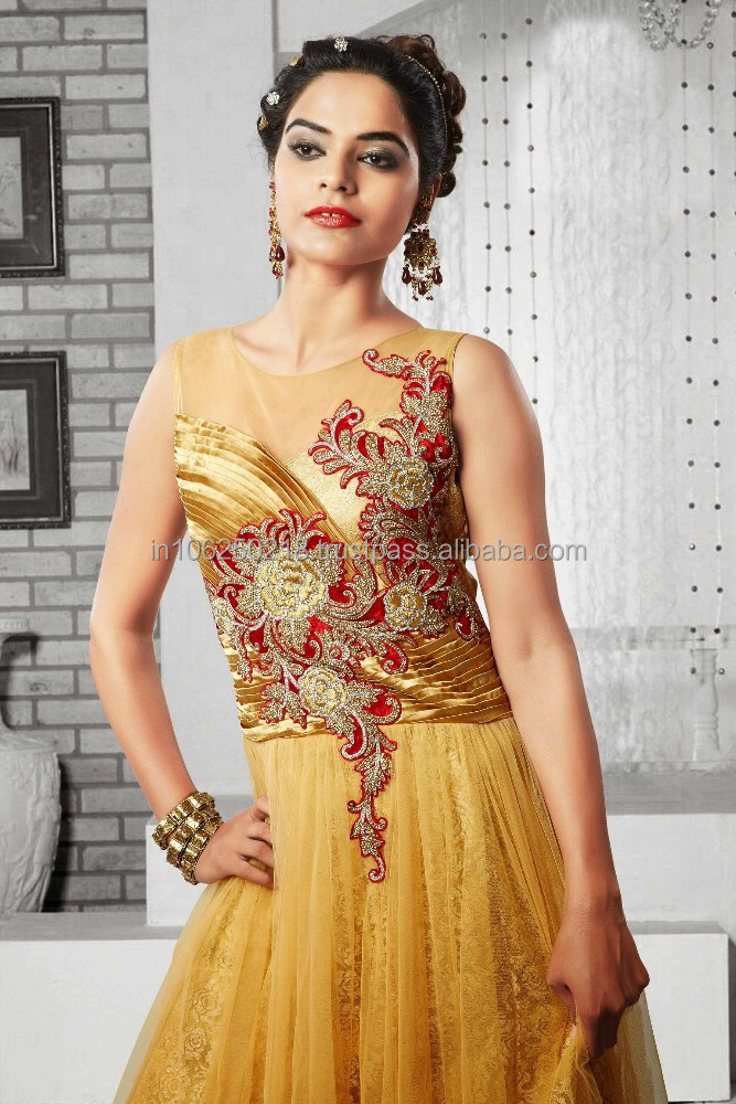 India Latest Gown Designs, India Latest Gown Designs Manufacturers ...