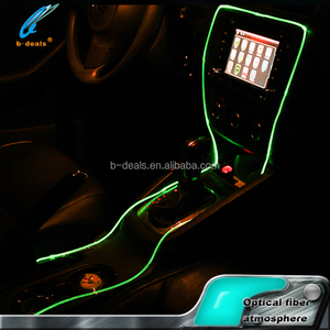 car interior decoration and accessories RGB fiber optic led atmosphere light