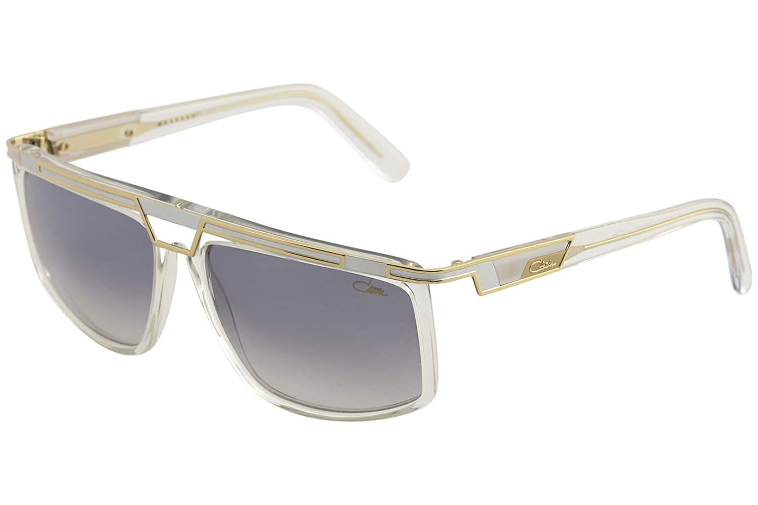 de5b4b25ef1 Get Quotations · Cazal 8036 Sunglasses 003SG Crystal-Gold Light Grey Gradient  Lens 62mm