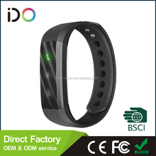 Factory supply personal beacon bracelet with step pedometer