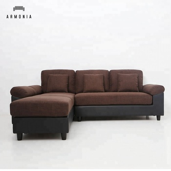 Modern Design Brown Fabric L Shaped Sectional Sofa,L Shape Sofa Dubai - Buy  Sectional Sofa,L Shaped Sectional Sofa,Fabric Sectional Sofa Product on ...