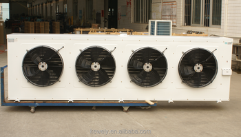 Wall mounted heat exchanger aluminum fin evaporator for cold room