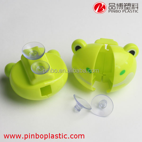 Hot selling kids toothbrush holder for wholesale custom design,plastic toothbrush holder with suction cup