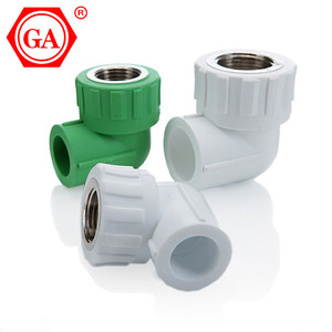 GA Brand Plastic ppr pipe fitting names and parts tools ppr pipes